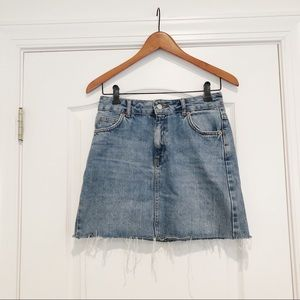 Topshop - Denim Mini Skirt